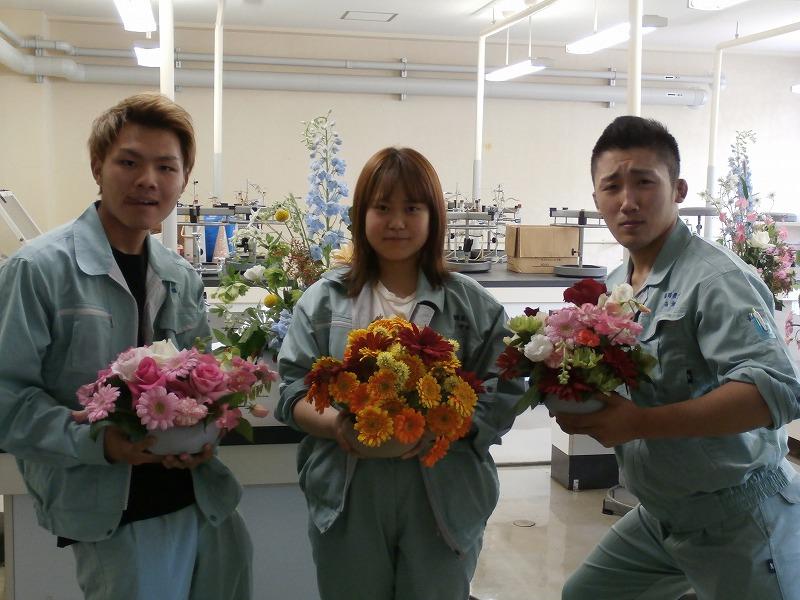福岡県農業大学校 » 花きコース